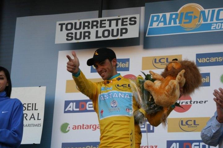 Alberto Contador Paris-Nice 2010