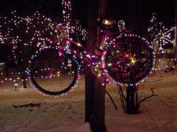 bikewithxmaslights