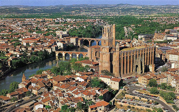 UNESCO site, Albi (image: Tourist Office)
