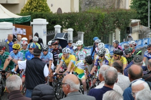 Waiting for the race to start in Vence