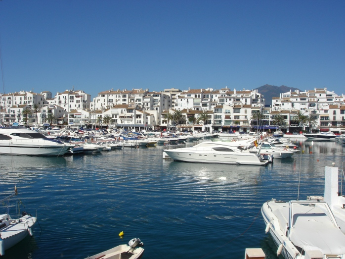 Puerto Banus has mushroomed in size