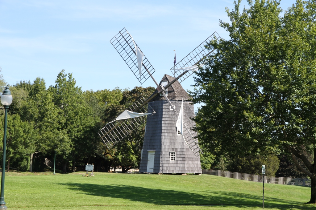Renovated windmill in East Hampton