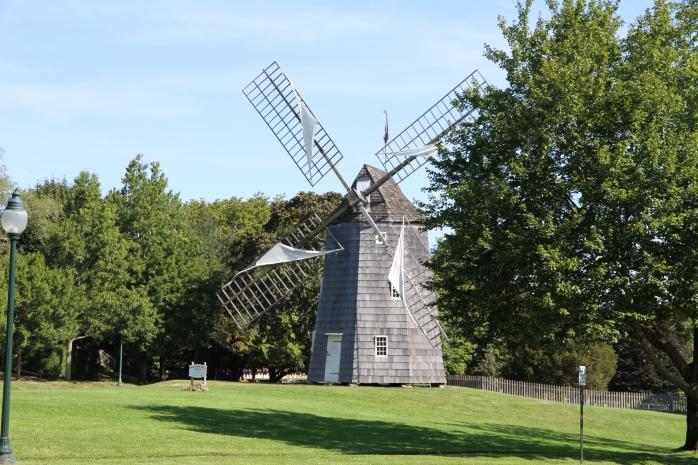 Renovated windmill in East Hampton