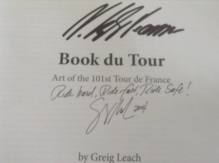 Signed by 2014 Tour de France winner: Vincenzo Nibali