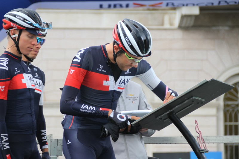 Larry Warbasse of IAM Cycling