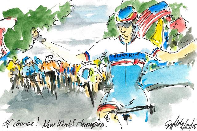 Sagan wins Worlds (image: Greig Leach)