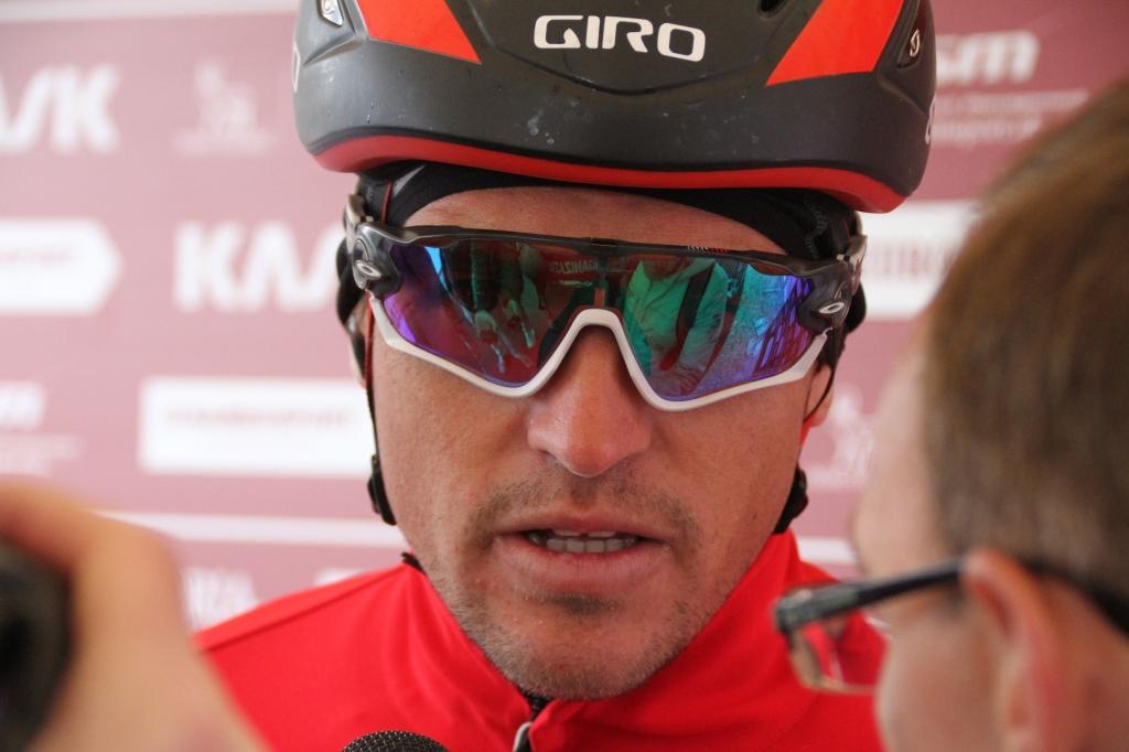 Greg Van Avermaet (BMC) fresh from his recent victory in Belgium