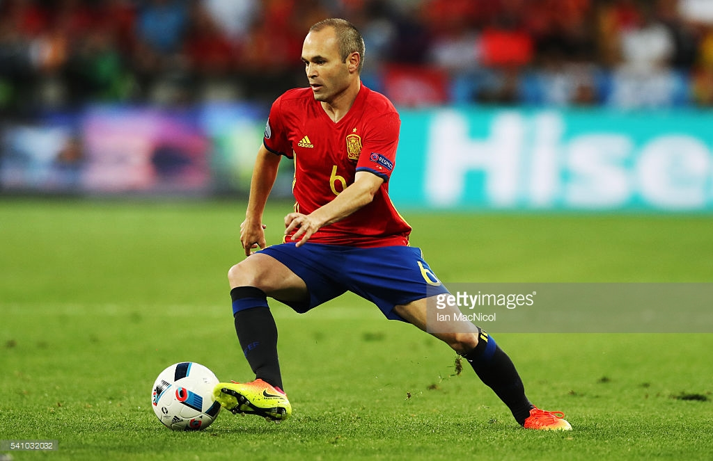 The Gamemaker Iniesta