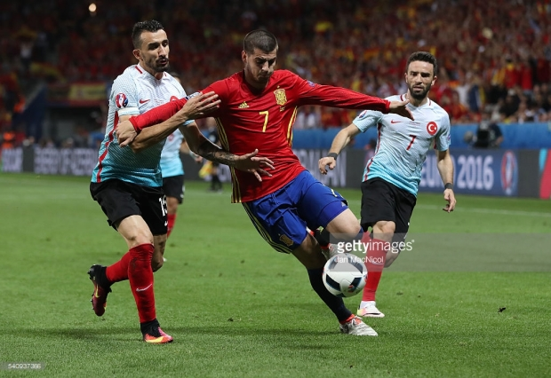 Morata, man of the match