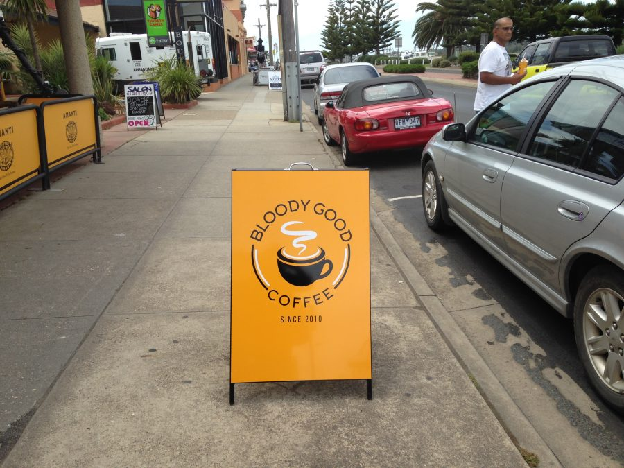 Aussies are really serious about their coffee and it's excellent