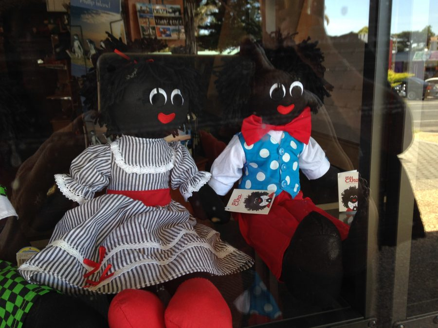 Australia tries hard to be PC but see what I spotted in a shop front