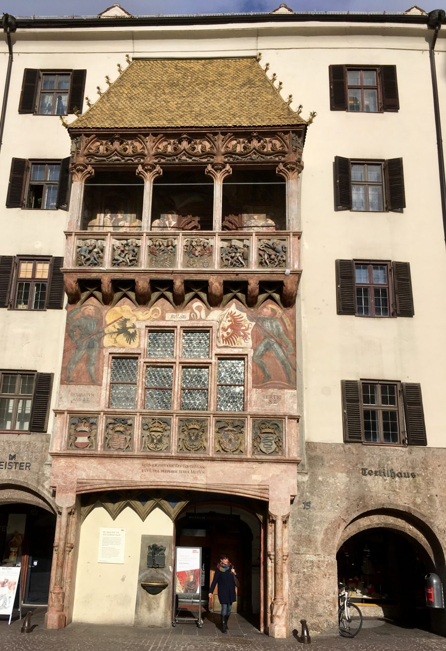 One of the oldest bits of Innsbruck