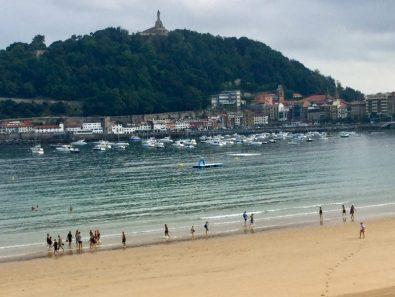 La Concha beach San Sebastian regularly voted best in class