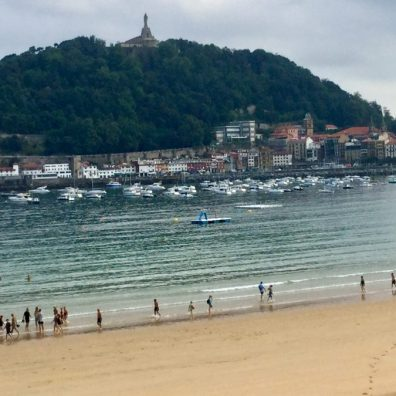 La Concha beach San Sebastian regularly voted best in class