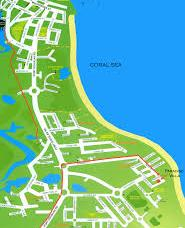 map port douglas