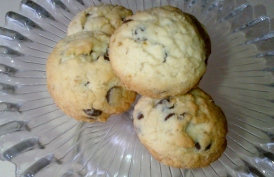 Cchocc chip oat cookies