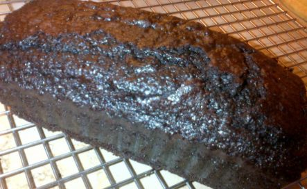 Chocolate and red wine cake