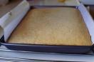 Sheet tray cake