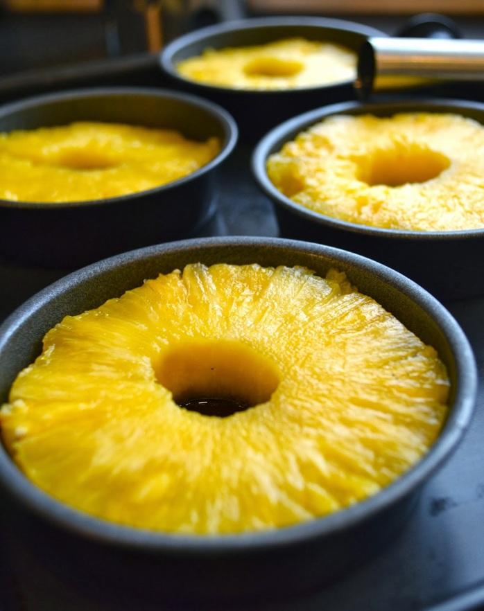 Kitchen Delights: Individual Pineapple Tart Tatin - Recipe
